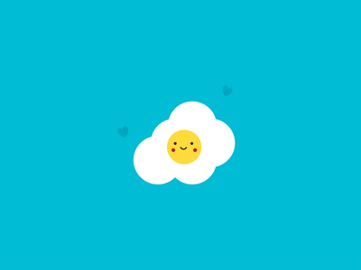 Nice egg branding animation flat typography vector illustrator design illustration art brand