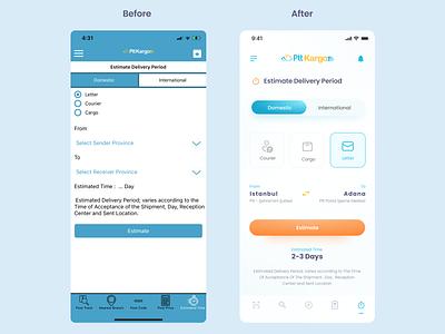 Before Or After art design illustrator flat minimal web app icon typography ui ux