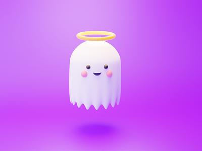 Cute Ghost ux art vector illustration design illustrator brand branding logo motion graphics graphic design 3d animation ui