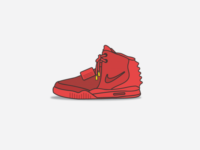 Air Yeezy 2's Red October
