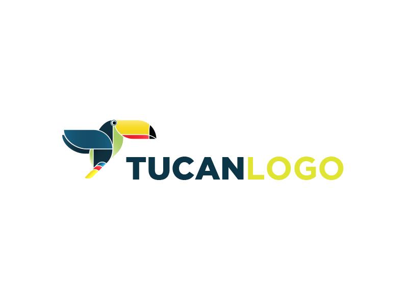 Tucan Logo animal brand children colour design logo nature t-shirt toucan tucan