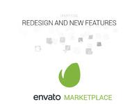 Envato redesign