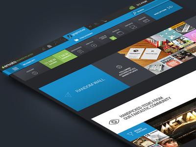 Redesign envato marketplace