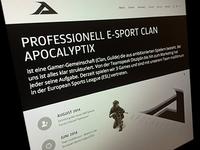 Apocalyptix Website