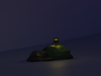 Low Poly Japanese Lantern