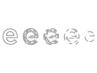 E Logo Progression