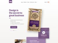 99designs Home Page Tweaks