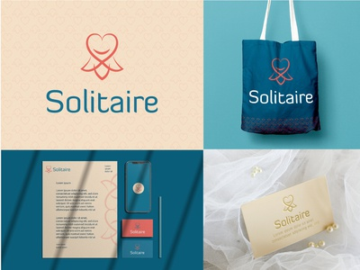 solitaire dress atelier logo