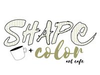 Shape & Color Art Cafe - Color Logo