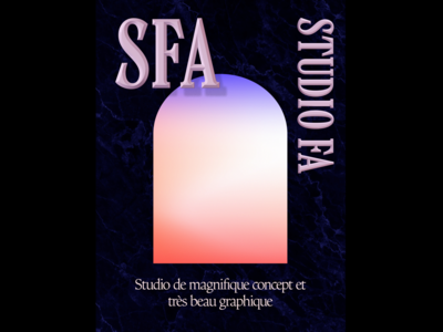 sfa dribble layout type graphic  design typography vector design