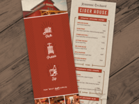 Cider House Menu
