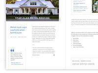 Architectural Editorial