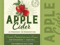 Apple Cider Label
