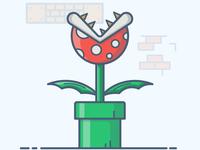 Mario Bros. Piranha plant