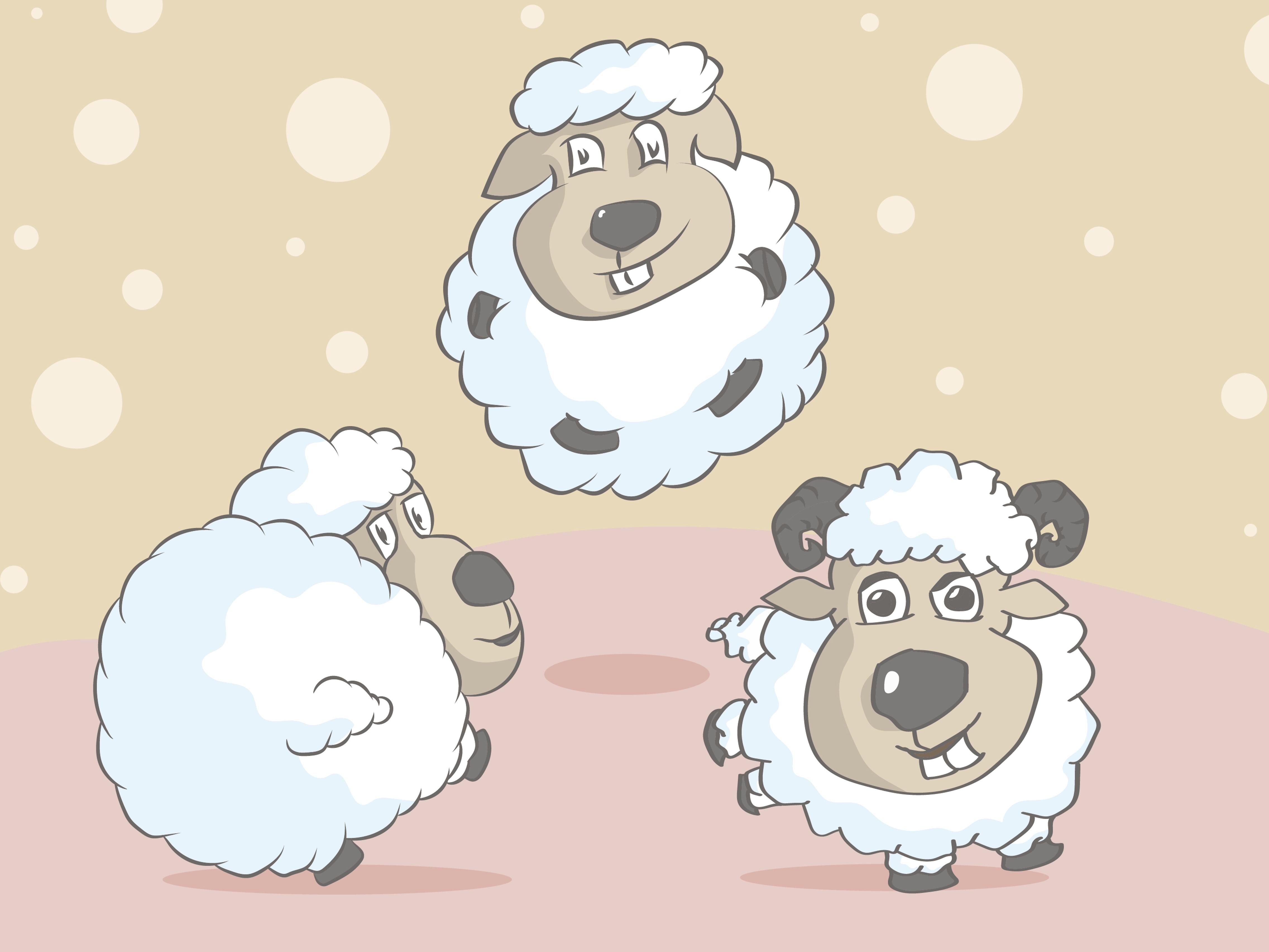 Sheep Vector By Ravi Alfreda Dribbble Dribbble