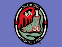 Trick or Treat, Eyeballs and Feet
