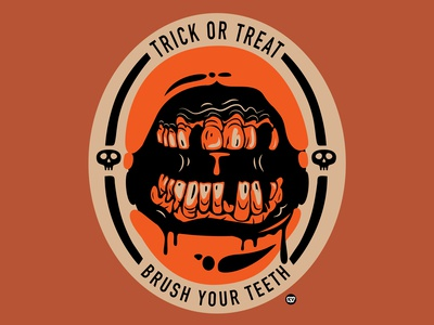 Trick or Treat, Brush Your Teeth