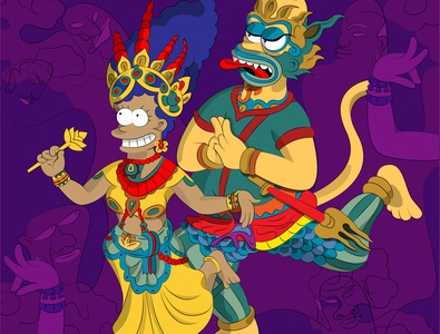 The Cambodian Simpsons LOL