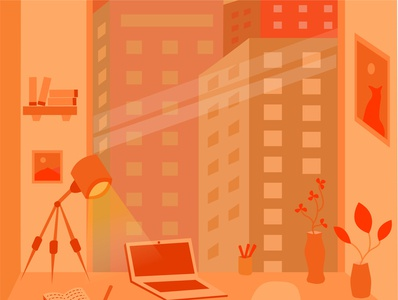 shades of orange flat illustration dribbble illustrator illustraion digital illustration digitalart illustration art illustrations arts drawing adobe minimal clean adobeillustator graphicdesign design art vector flat illustration