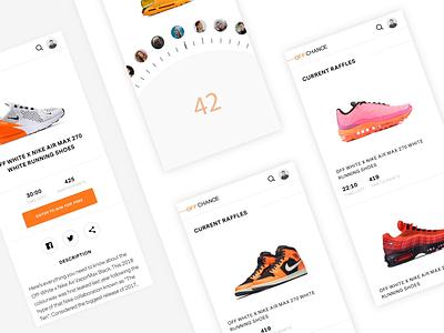 Off Chance - Animations identity web animation app minimal typography branding ux ui design