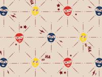 Luchadora Pattern
