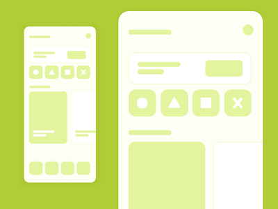 Mobile Wireframe - Quick mockup playstation mobile wireframe wireframe