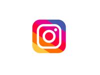 Instagram - Flat color