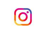 Instagram - Flat icon