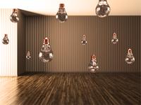 Floating Bulbs