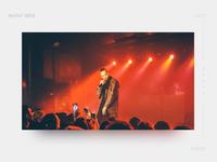 Music Shake Web Design