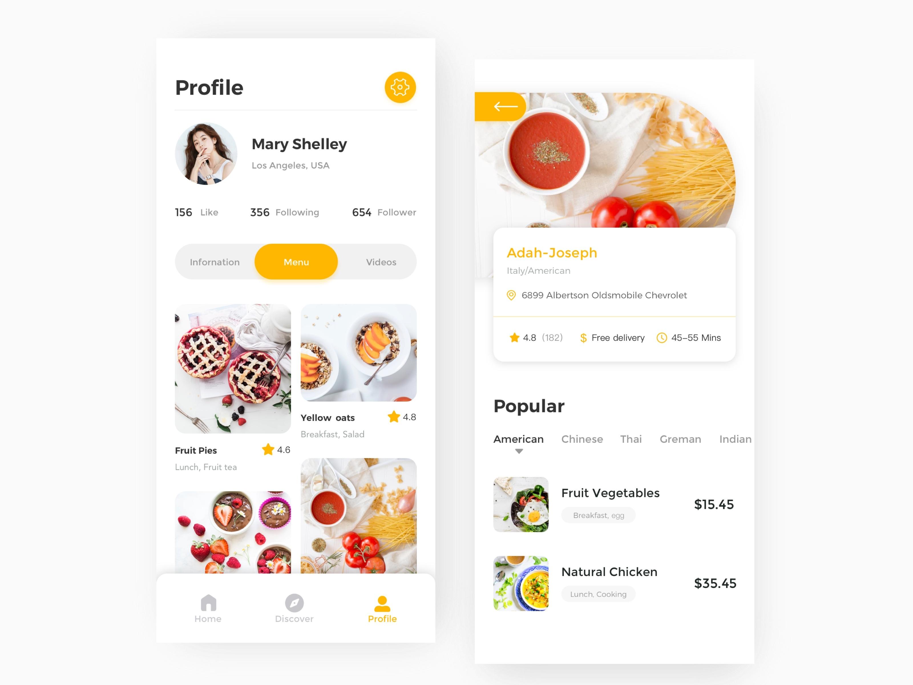 Food App 2