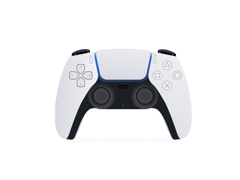 New Wireless Game Controller for PlayStation 5 controller game wireless new