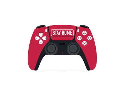 The New Wireless Game Controller for PlayStation 5 corona virus prevention coronavirus stayhome stay stay home stay at home