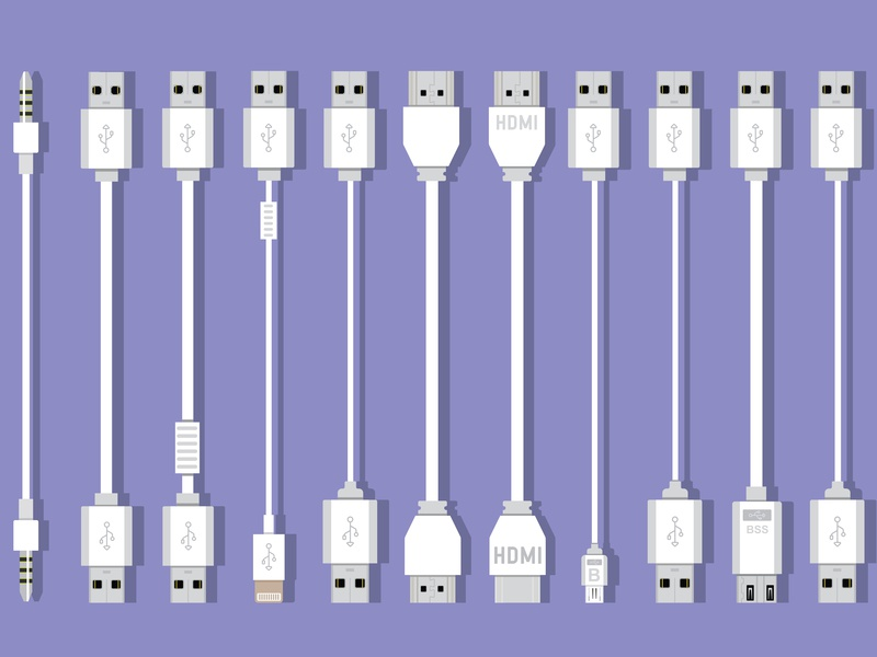 Universal pc cable collection universal pc cable collection