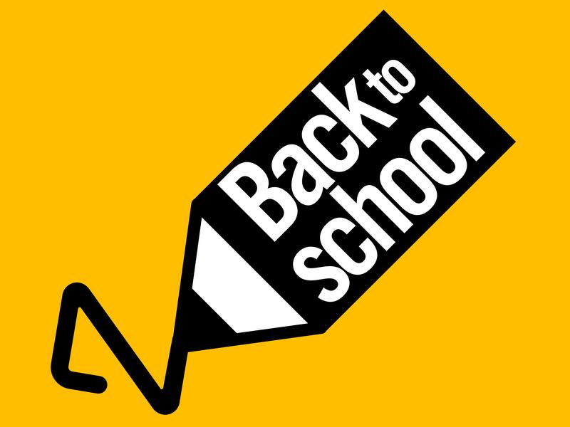 Back to ScHool logo eps10 school background back to school pencil vector art logo vector back to school logo
