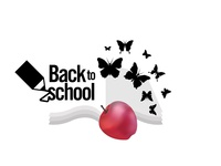 Back to ScHool logo on yellow background