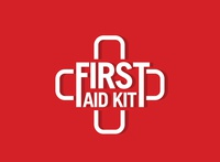 First aid kit vector logo