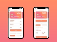 Daily UI #2 : Credit Card Checkout
