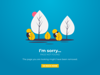 Daily UI #08 - 404 ERROR PAGE
