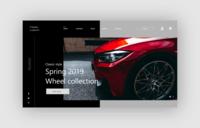 Classic custom Website landing page design (concept 1)