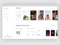 Dashboard Design page