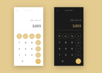 Calculator App design