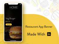 Restaurant App Banner