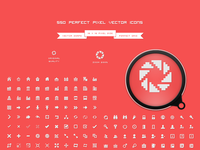 550 perfect pixel vector icons
