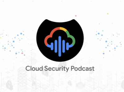 Cloud Security Podcast Logo design shield cloud podcast