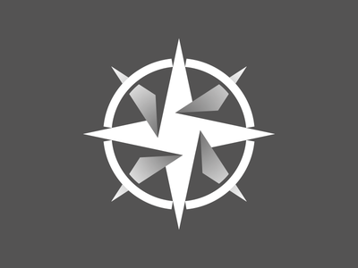 Compass Team Logo - 1 Color Version com