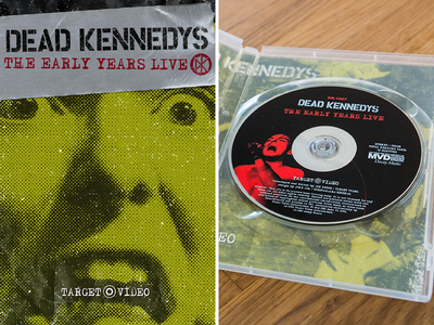 Dead Kennedys - The Early Years Live DVD