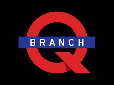 Q Branch Logo united kingdom uk spies james bond 007 q subway metro london underground q branch palantir