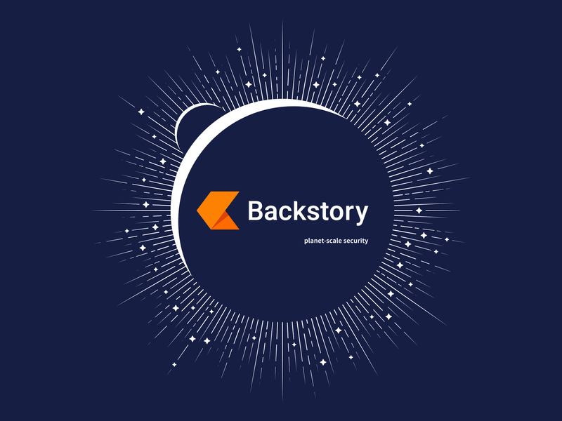Backstory Planet-scale T-Shirt