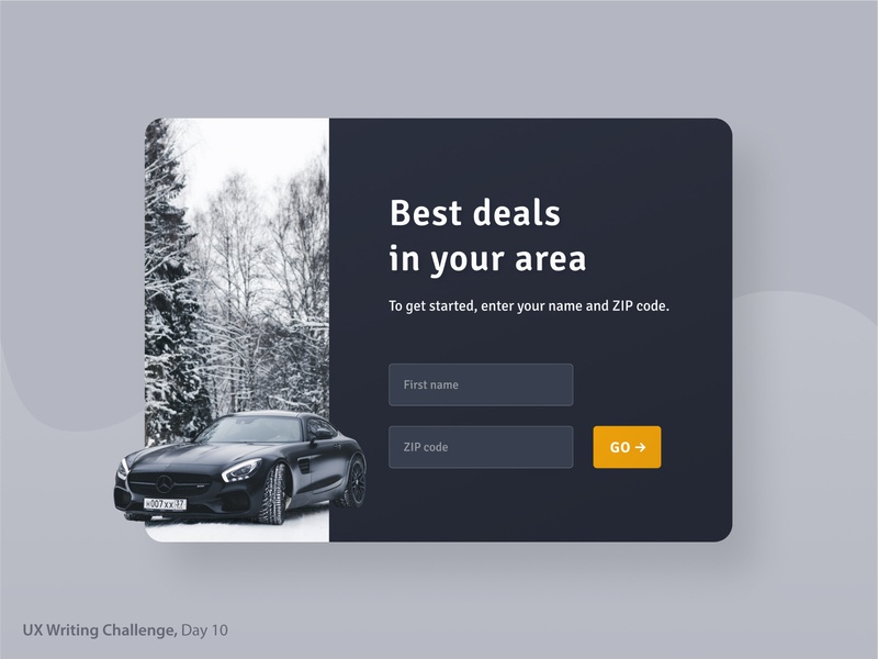 UX Writing Challenge, Day 10 login design login form login screen login car rental car dealer webdesign ui design user interface car rental app ui duxwc duxw design pop up uxwriting uxwc